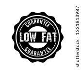 low fat guarantee graphic label ... | Shutterstock .eps vector #1331813987