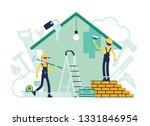 Builders Doing Repair Of...