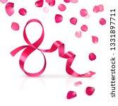 congratulatory banner  march 8... | Shutterstock . vector #1331897711