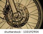 Pattern Vintage Motorcycle...