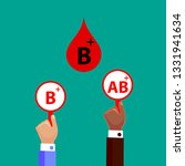 blood compatibility donation....   Shutterstock .eps vector #1331941634