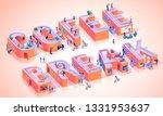 coffee break time motivation... | Shutterstock .eps vector #1331953637
