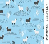 seamless vector pattern with... | Shutterstock .eps vector #1331961374