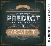 the best way to predict the... | Shutterstock .eps vector #1331969744