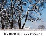 tree during the winter season   Shutterstock . vector #1331972744
