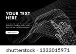 abstract future realistics... | Shutterstock .eps vector #1332015971