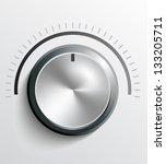 volume knob | Shutterstock .eps vector #133205711
