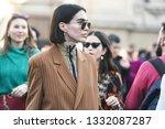 milan  italy   february 22 ...   Shutterstock . vector #1332087287