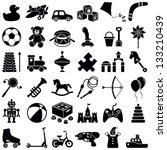 Toys Icon Collection   Vector...