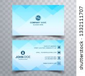 abstract business card set... | Shutterstock .eps vector #1332111707