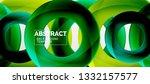 vector circles abstract...   Shutterstock .eps vector #1332157577