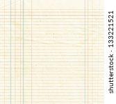 blank yellow lined paper sheet... | Shutterstock . vector #133221521