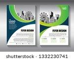 business abstract vector... | Shutterstock .eps vector #1332230741