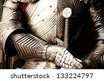Ancient Metal Armor   Iron...