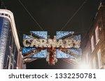 london  uk   march 6  2019 ... | Shutterstock . vector #1332250781