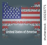 United States Of America Flag...