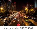 Beijing October 25  Traffic Ja...