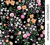 delicate floral seamless... | Shutterstock .eps vector #133236425