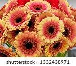 Orange Gerbera Daisy Bouquet...