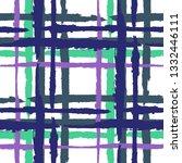tartan. seamless grunge texture ...   Shutterstock .eps vector #1332446111