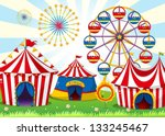 Illustration Of A Carnival Wit...