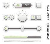 button | Shutterstock .eps vector #133245941