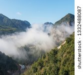 cloudy mountains china   Shutterstock . vector #1332488087