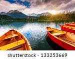 mountain lake in national park... | Shutterstock . vector #133253669