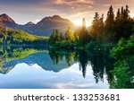 mountain lake in national park... | Shutterstock . vector #133253681