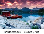 mountain lake in national park... | Shutterstock . vector #133253705