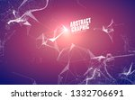 abstract graphic consisting of... | Shutterstock .eps vector #1332706691