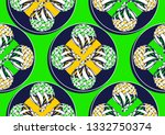 textile fashion  african print... | Shutterstock .eps vector #1332750374