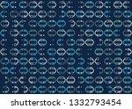 beautiful seamless geometric...   Shutterstock .eps vector #1332793454