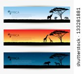 Africa Banners   Vector...