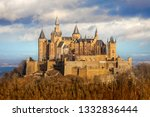 view of hohenzollern castle in...   Shutterstock . vector #1332836444