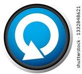 circular 360 degree arrow icon  ... | Shutterstock .eps vector #1332848621