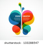 abstract background with... | Shutterstock .eps vector #133288547
