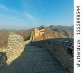 great wall of beijing china    Shutterstock . vector #1332898544