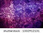 abstract purple canvas texture... | Shutterstock . vector #1332912131