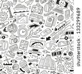 travel transportation  ... | Shutterstock .eps vector #133299689