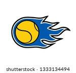 shot tennis symbol | Shutterstock .eps vector #1333134494