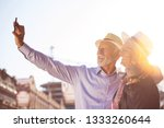 tourism and technology.... | Shutterstock . vector #1333260644
