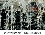 abstract water splash isolated... | Shutterstock . vector #1333303091