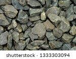pebble stone wall | Shutterstock . vector #1333303094