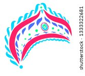 decorated crown for russian...   Shutterstock . vector #1333322681