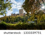 views of the alhambra in... | Shutterstock . vector #1333339751