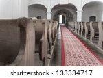 Old Medieval Church Interior I...