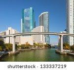 miami city florida  usa  view... | Shutterstock . vector #133337219