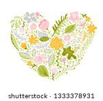 illustration of colorful... | Shutterstock . vector #1333378931