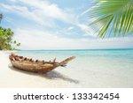 View Of Nice Tropical  Beach ...